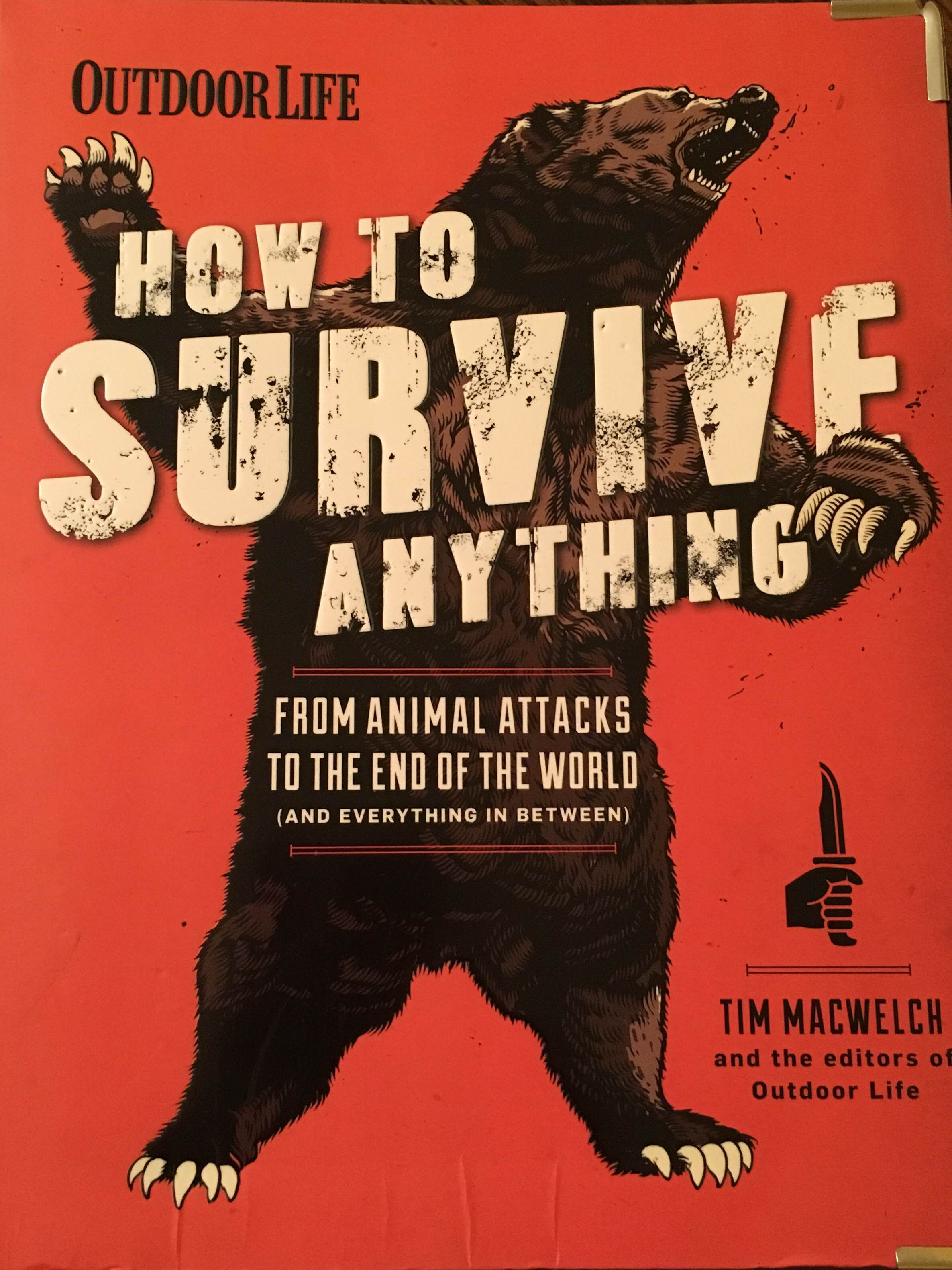 How To Survive Anything by Tim MacWelch and Outdoor Life [Book Review]
