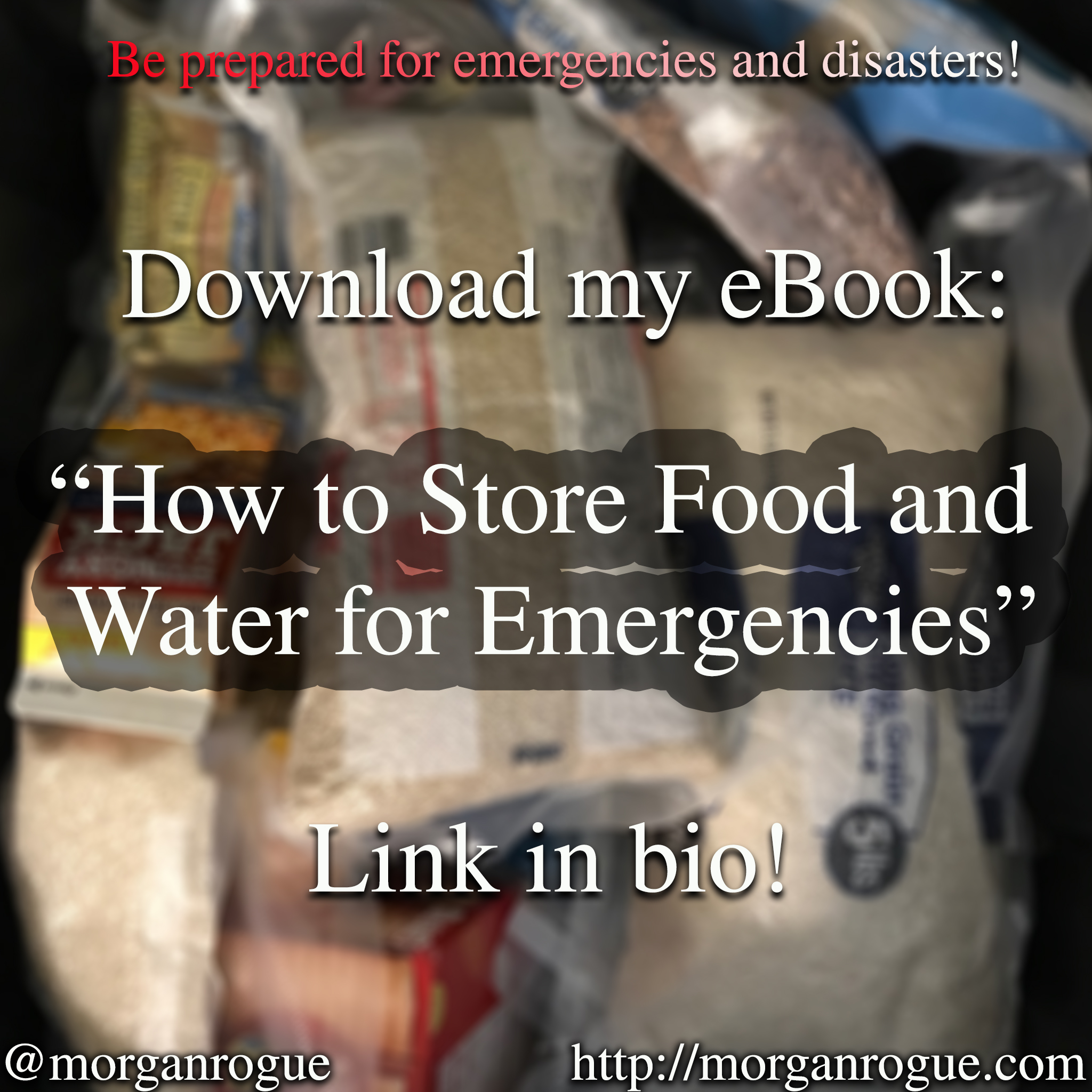 Learn How to Store Food and Water for Emergencies