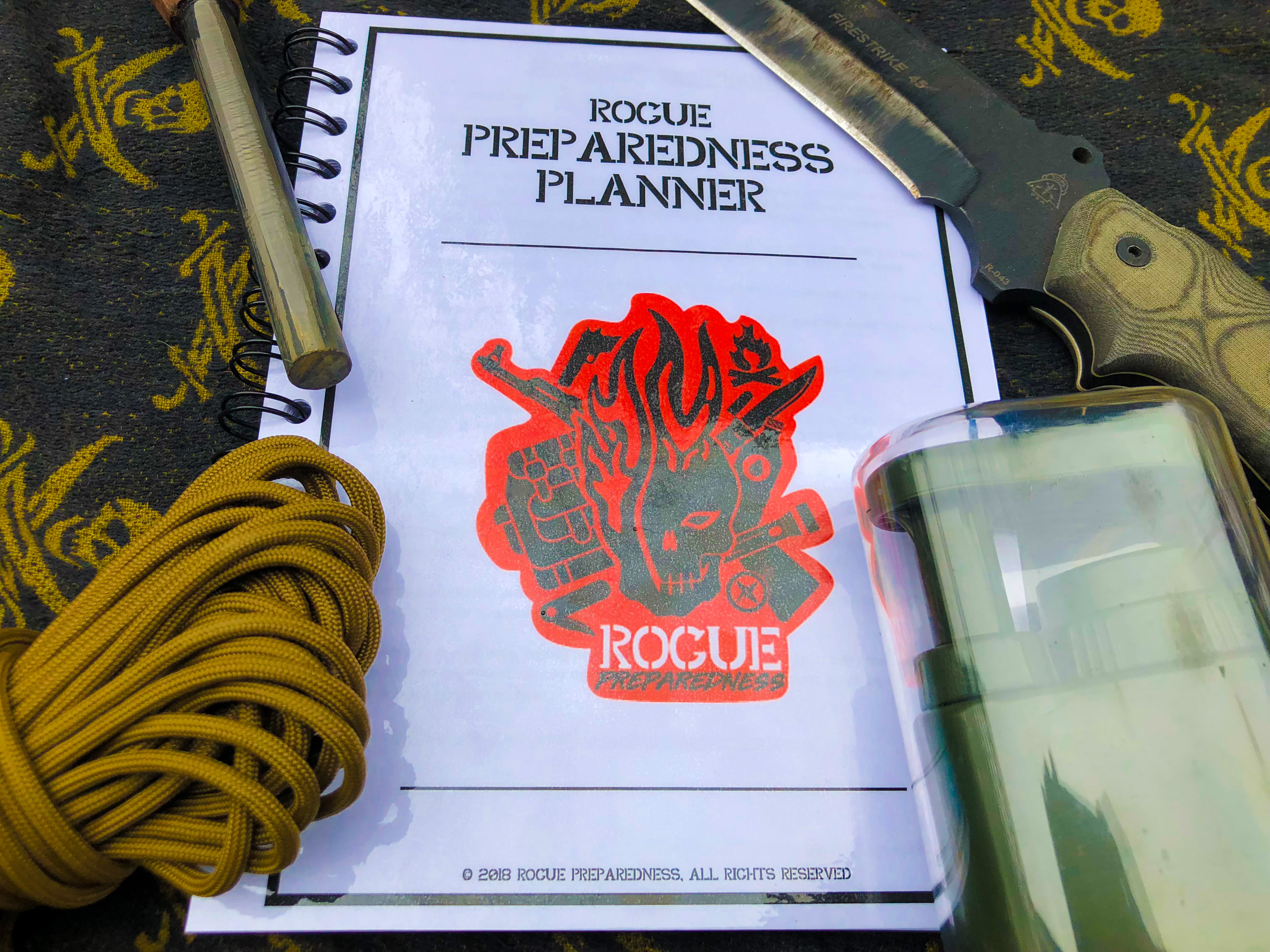 Prepper Product of The Week 3/2/18 – Preparedness Planner