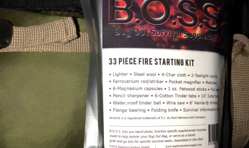 Prepper Product of the Week – Bug Out Bag Survival Fire Starting Kit