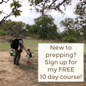 FREE prepper course