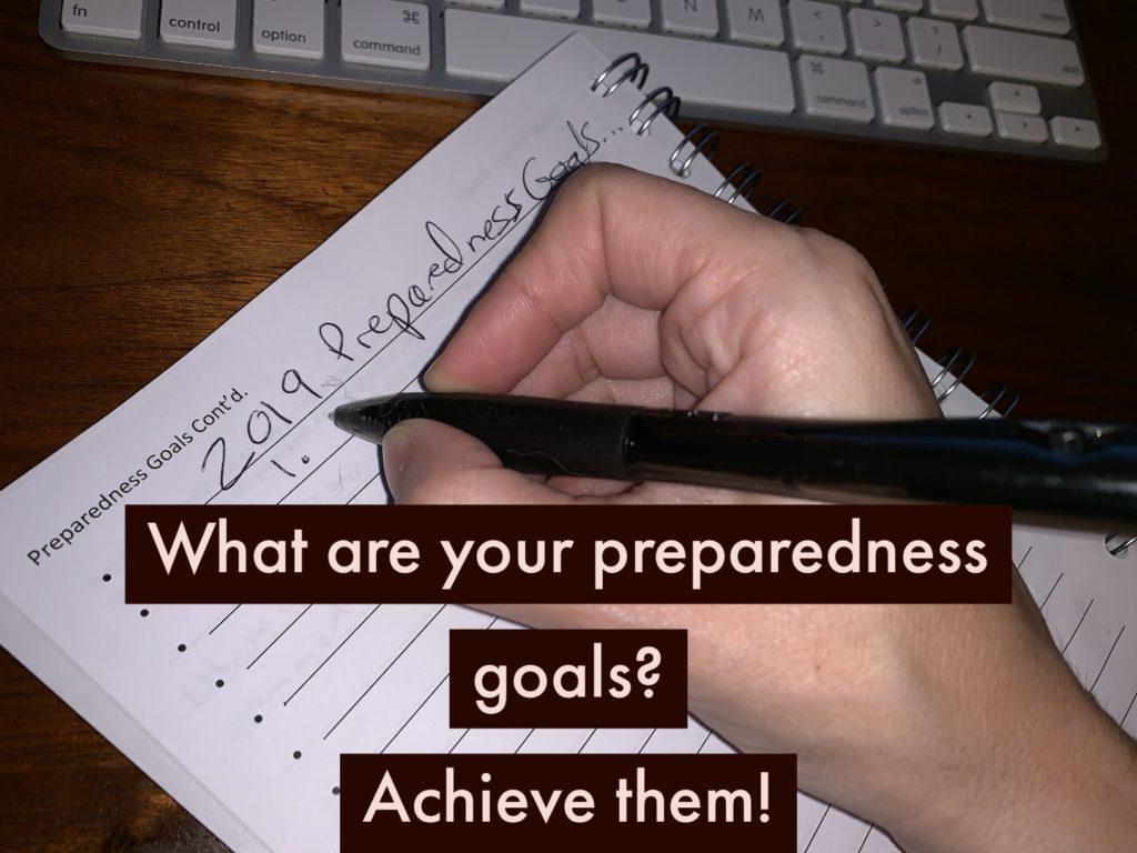 get prepared preparedness goals