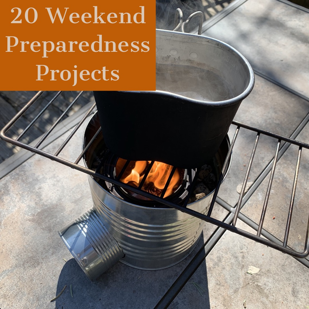 20 Simple & Budget Friendly Weekend Preparedness Projects