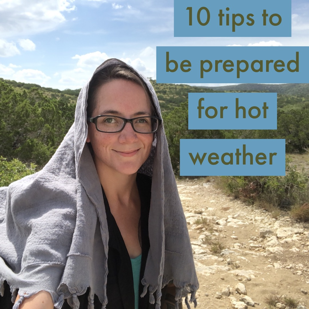 COTTON KILLS! Or Does It? Tips To Be Prepared for Hot Weather