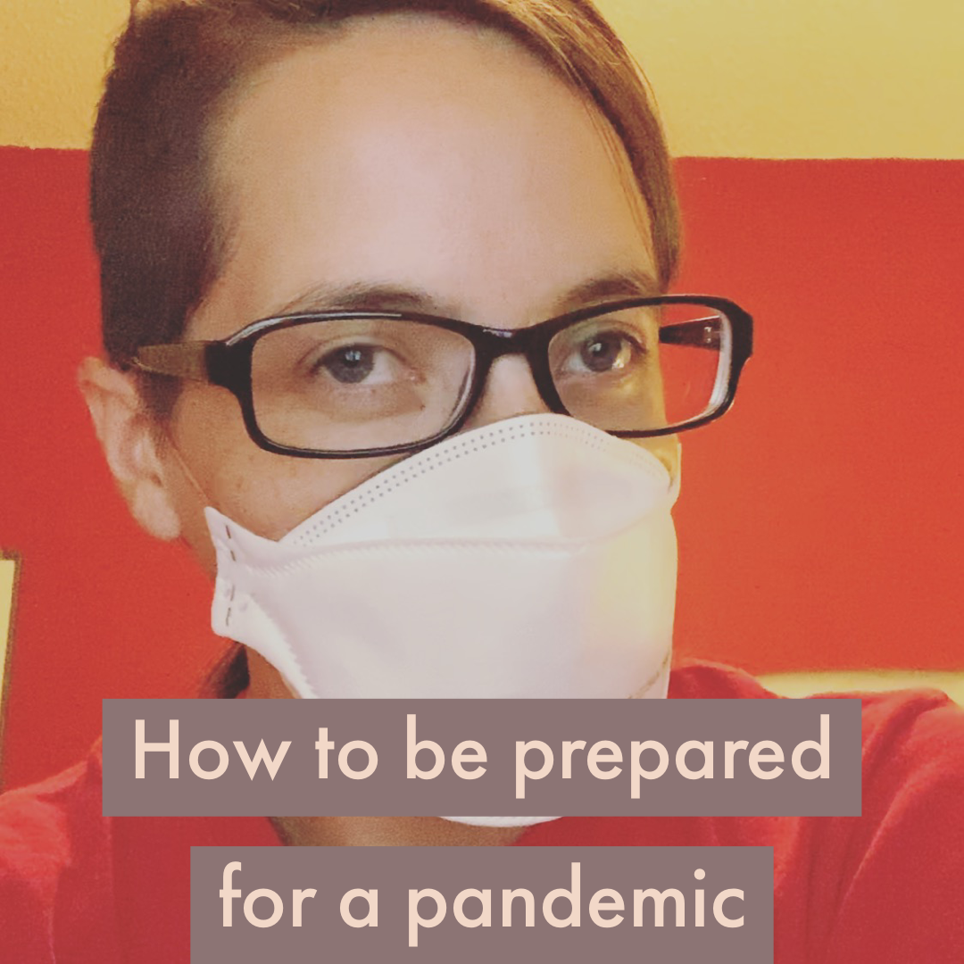 how to be prepared for a pandemic