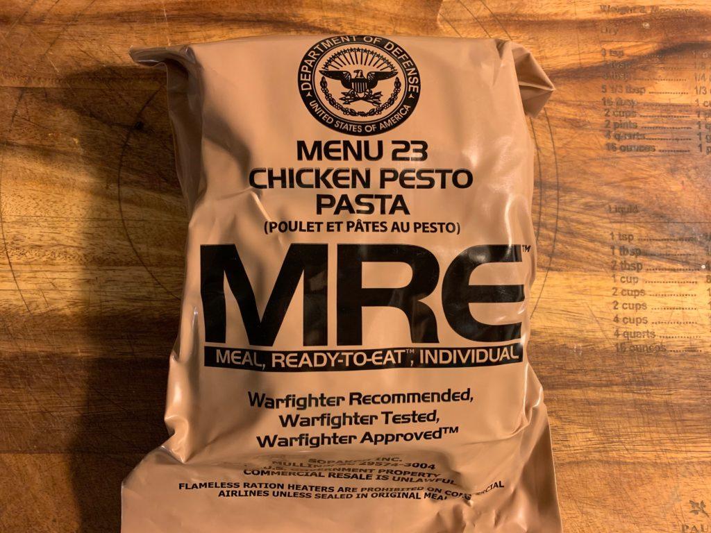 Standard military MRE