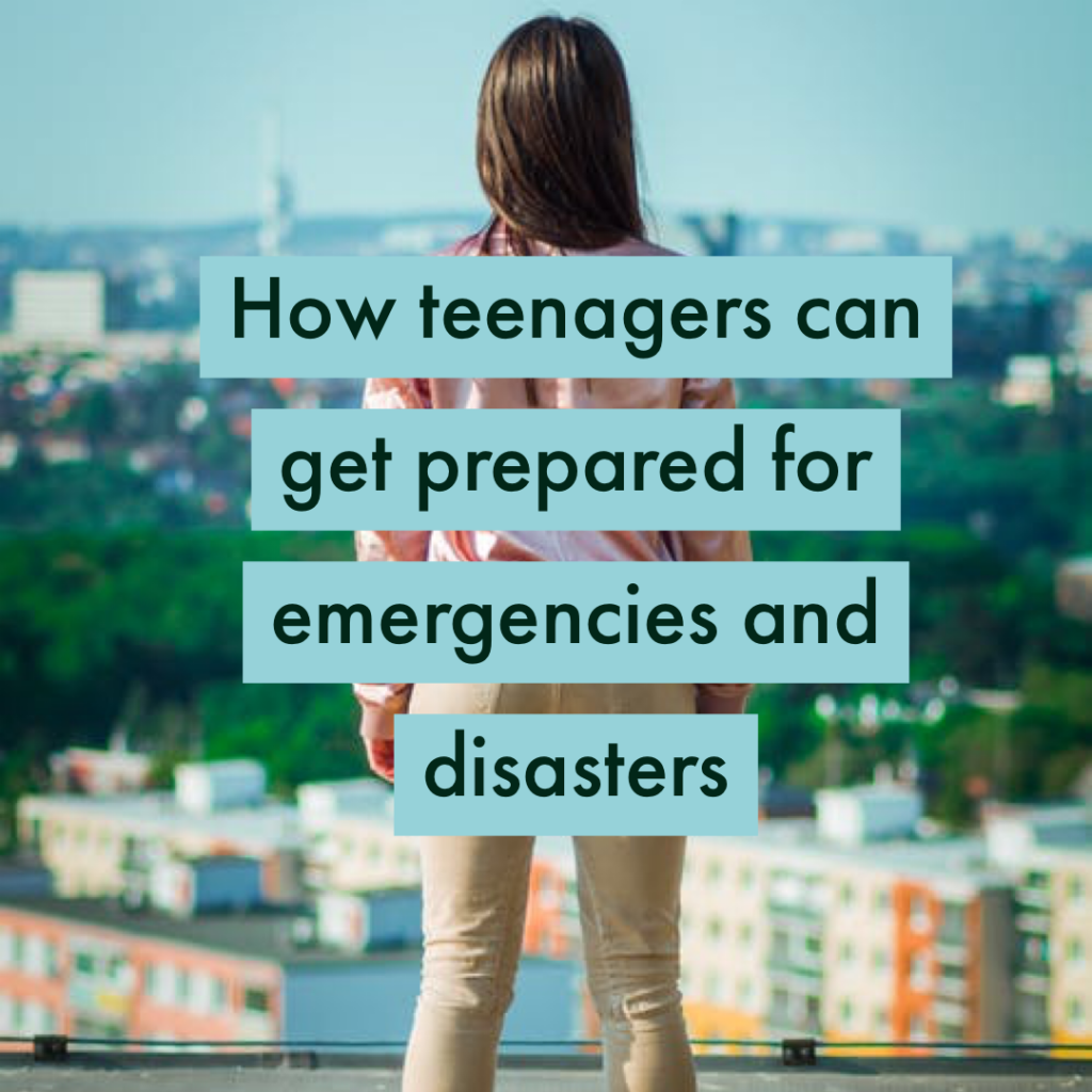 how teenagers can get prepared