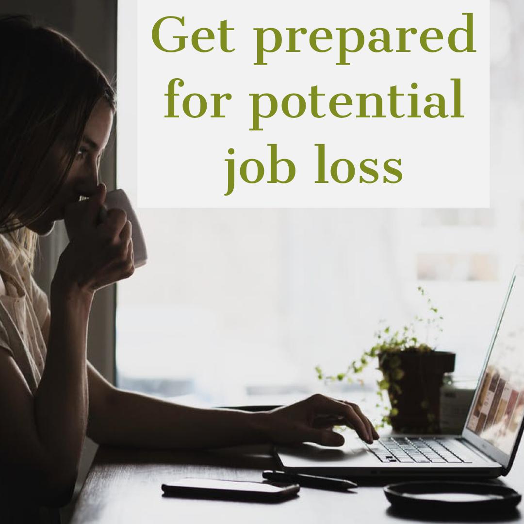 prepare for job loss