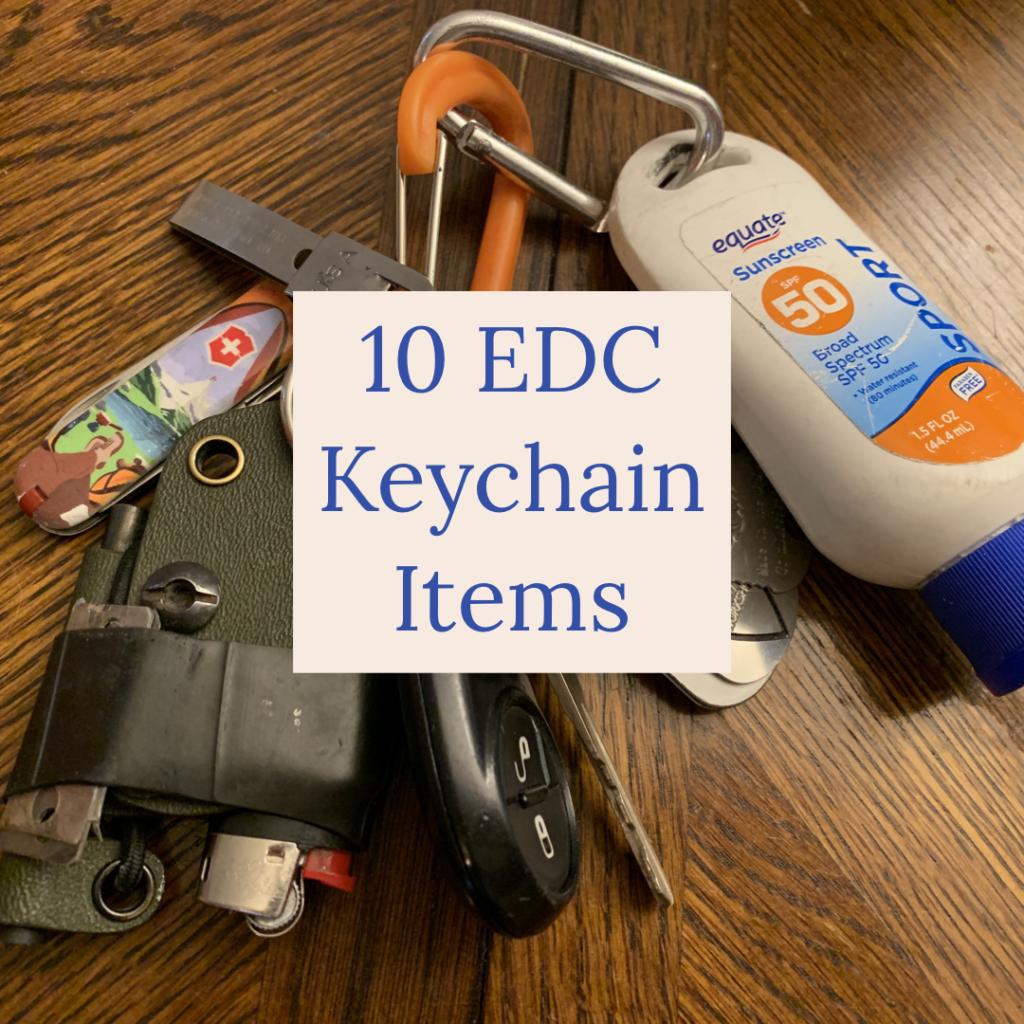 edc keychain preparedness items