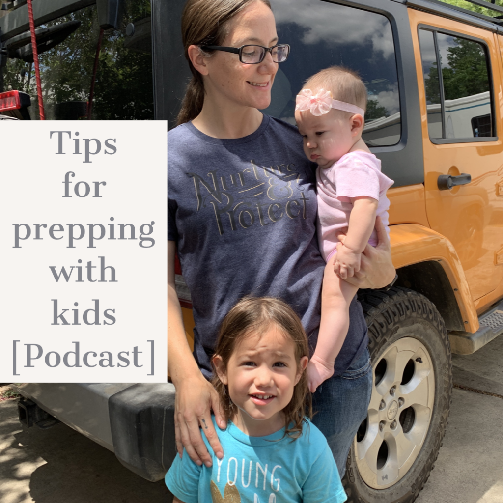 preparing with kids podcast