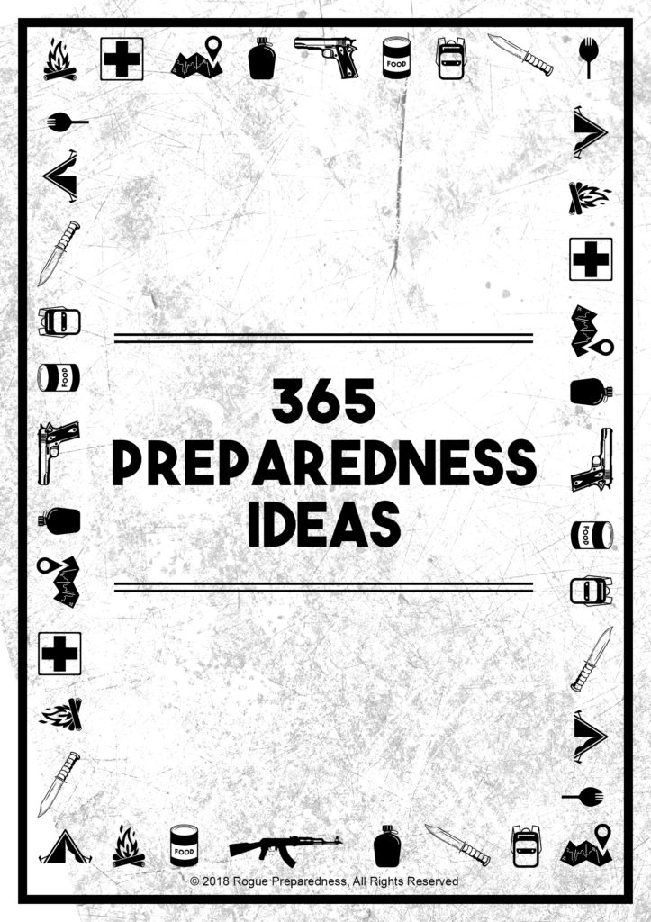 365 Preparedness Ideas